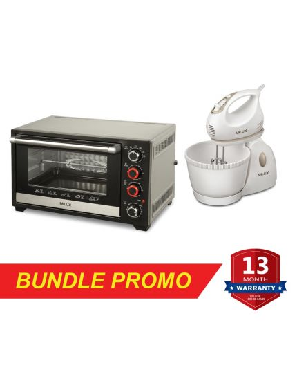 Electric Oven (MOT-DS45) + Stand Mixer (MSM-9901)