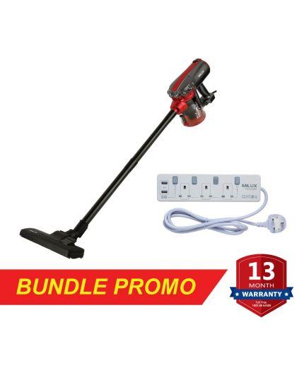 Vacuum Cleaner (MVC-821) + USB Trailing Socket MEC-9320U)