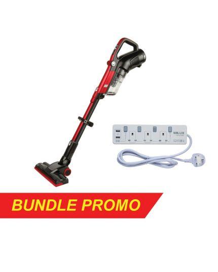 Vacuum Cleaner (MVC-864B) + USB Trailing Socket MEC-9320U)